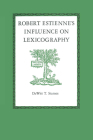 Robert Estienne's Influence on Lexicography Cover Image