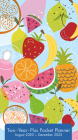 2021 Citrus Delights Two-Year-Plus Pocket Planner Cover Image