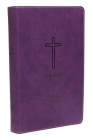 KJV, Deluxe Gift Bible, Imitation Leather, Purple, Red Letter Edition Cover Image