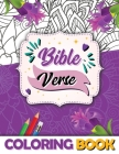 Bible Verse Coloring Book: Inspirational And Motivational Scripture With Captivating Patterns (Bible Quotes) Cover Image
