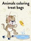 Animals Coloring Treat Bags: Coloring Pages Christmas Book, Creative Art Activities for Children, kids and Adults Cover Image