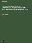 1953: Mit Dem Beiblatt Archäologischer Anzeiger Cover Image