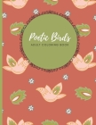 Poetic Birds Adult Coloring Book: Bring out your artist and let go of the stress with this 30 beautiful designs Cover Image