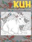 Malbücher für Erwachsene - Dicke Seiten - Tiere - Kuh Cover Image