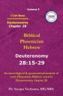 Deuteronomy Chapter 28: I Can Read - Biblical Phoenician Hebrew Volume 3 Cover Image