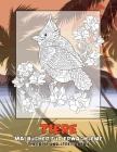Malbücher für Erwachsene - Therapie und Stressabbau - Tiere Cover Image