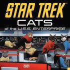 Star Trek: Cats 2021 Wall Calendar Cover Image