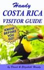 Handy Costa Rica Visitors Guide Cover Image