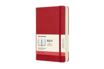 Moleskine 2020-21 Daily Planner, 18M, Large, Scarlet Red, Hard Cover (5 x 8.25) Cover Image