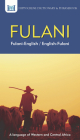 Fulani-English/ English-Fulani Dictionary & Phrasebook Cover Image