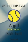 Never Underestimate the Power of a Girl with a Tennis: A Journal, NoteBOOK, or Diary to write down your thoughts ..: at, Sleep., Breathe, Play Tennis, Cover Image