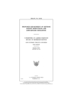 Proposed Department of Defense budget reductions and efficiencies initiatives Cover Image