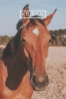 Journal: Pretty Notebook Gift for cute horses lovers Cover Image