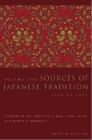 Sources of Japanese Tradition: 1600 to 2000 (Introduction to Asian Civilizations) Cover Image