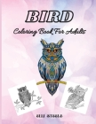 Bird Coloring Book For Adults: Gorgeous birds coloring book for adults stress relieving with gorgeus bird designs. Cover Image