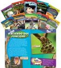 Time for Kids Informational Text Grade 4 Spanish Set 1 10-Book Set (Time for Kids Nonfiction Readers) (Classroom Library Collections) Cover Image