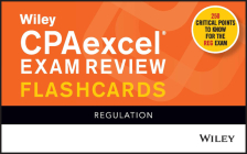 Wiley Cpaexcel Exam Review 2021 Flashcards: Regulation Cover Image