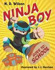 Ninja Boy Goes to School Cover Image