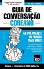 Guia de Conversação Português-Coreano e vocabulário temático 3000 palavras Cover Image