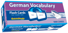 German Vocabulary (Academic) Cover Image