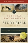 NIV, Cultural Backgrounds Study Bible, Personal Size, Hardcover, Red Letter Edition: Bringing to Life the Ancient World of Scripture Cover Image