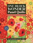 One-Block Wonder Panel Quilts: New Ideas; One-Of-A-Kind Hexagon Blocks Cover Image