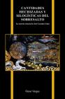 Cantidades Hechizadas Y Silogísticas del Sobresalto: La Secreta Ciencia de José Lezama Lima (Purdue Studies in Romance Literatures #82) Cover Image