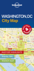 Lonely Planet Washington DC City Map 1 Cover Image
