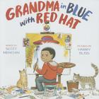 Grandma in Blue with Red Hat Cover Image