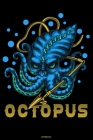 Octopus Notebook: Octopus with Spear Journal Kraken Composition Book Giant Squid Gift Cover Image