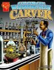 George Washington Carver: Ingenious Inventor (Graphic Biographies) Cover Image