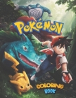 Pokemon Coloring Book: Pikachu JUMBO Coloring Book For Kids - Ages 1-15+ Pokemon Coloring Book Gift For Children - Enjoy Lots Of Beautiful Co Cover Image
