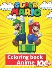 Anime Coloring Book: +100 Illustrations, wonderful Jumbo Pokemon Coloring Book For Kids Ages 3-7, 4-8, 8-10, 8-12, Pikachu, Fun, (Pokemon B Cover Image