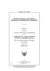 Military resale and morale, welfare and recreation overview Cover Image