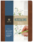 HCSB Illustrator's Notetaking Bible, British Tan, LeatherTouch Cover Image