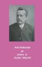 44 Letters to Gustav Meyrink: English Translation Cover Image