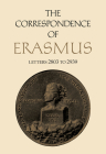 The Correspondence of Erasmus: Letters 2803 to 2939, Volume 20 (Collected Works of Erasmus #20) Cover Image