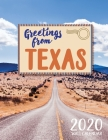Greetings from Texas 2020 Wall Calendar Cover Image