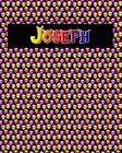 120 Page Handwriting Practice Book with Colorful Alien Cover Joseph: Primary Grades Handwriting Book Cover Image