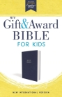 Niv, Gift and Award Bible for Kids, Flexcover, Blue, Comfort Print Cover Image