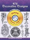476 Decorative Designs [With CDROM] (Dover Electronic Clip Art) Cover Image