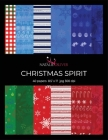 Christmas Spirit: Scrapbooking, Design and Craft Paper, 40 sheets, 20 designs, 3 sheets each, size 8.5