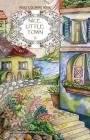 Adult coloring book: Nice Little Town Cover Image