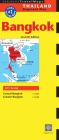 Bangkok Travel Map Seventh Edition Cover Image