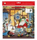 Letter to Santa Advent Calendar (with Stickers) Cover Image