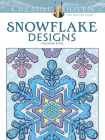 Creative Haven Snowflake Designs Coloring Book (Creative Haven Coloring Books) Cover Image