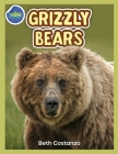 Grizzly Bear Activity Workbook ages 4-8 Cover Image