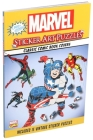 Marvel Sticker Art Puzzles Cover Image