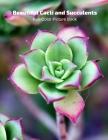 Beautiful Cacti and Succulents Full-Color Picture Book: Flower Picture Book for Children, Seniors and Alzheimer's Patients -Flowers Nature Gardening Cover Image