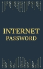 Internet Password: Personal Password Organizer With Alphabetical Tabs & Gold Design Cover Style Cover Image